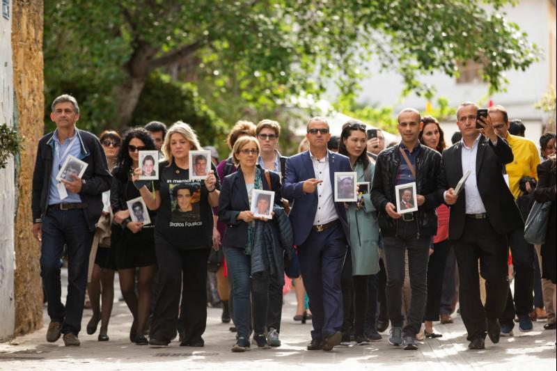 Целью марша было напомнить всем, что каждый час в мире в ДТП погибает около 150 человек